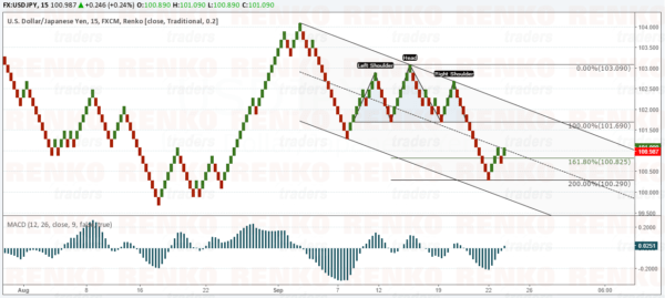 USDJPY – Limited gains seen for now to 101.69